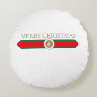 Coussins Ronds Cadeaux de Joyeux Noël