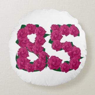 """Coussins Ronds carreau rond de 85th anniversaire (16"""")"""