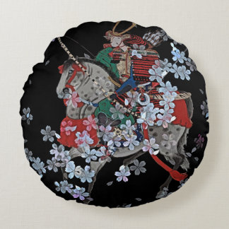 "Coussins Ronds Carreau rond de polyester samouraï (16"")"