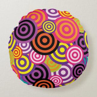 Coussins Ronds Cercles concentriques #2