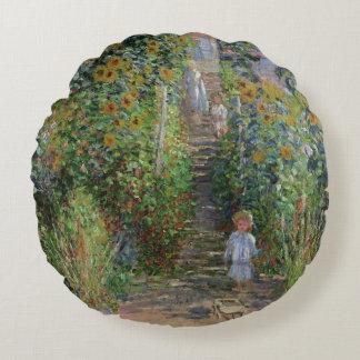 Coussins Ronds Claude Monet | le jardin de l'artiste chez