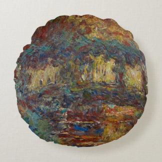Coussins Ronds Claude Monet | le pont japonais