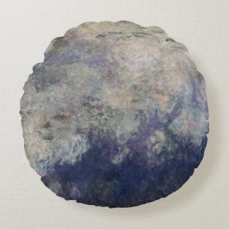 Coussins Ronds Claude Monet | les nénuphars les nuages 1915-26