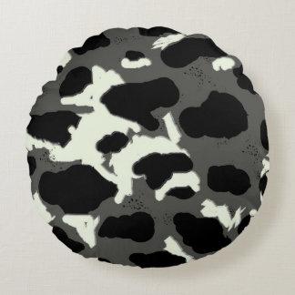 Coussins Ronds Conception de varicelle de vache