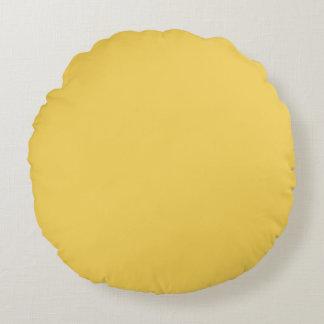 Coussins Ronds Couleur jaune de primevère