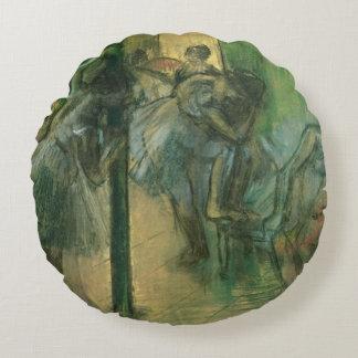 Coussins Ronds Danseurs d'Edgar Degas | préparant