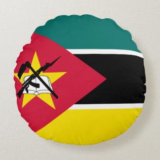 Coussins Ronds Drapeau de la Mozambique