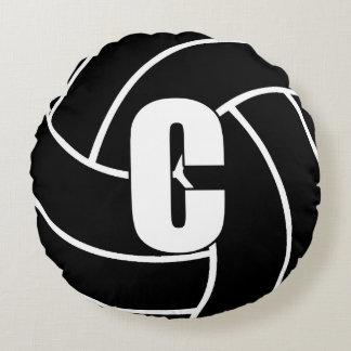 Coussins Ronds Joueurs de net-ball - centre - C