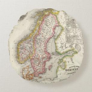 Coussins Ronds La Suède, Norvège 2 2