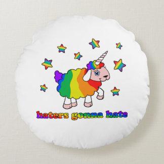 Coussins Ronds Moutons de licorne