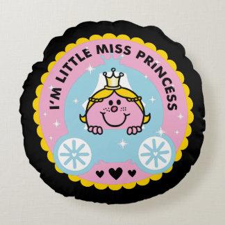Coussins Ronds Petite Mlle le princesse | je suis une princesse