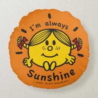 Coussins Ronds Petite Mlle Sunshine | je suis toujours soleil