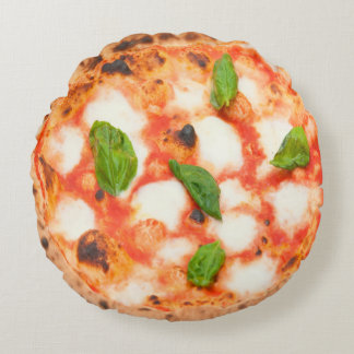 Coussins Ronds pizza italienne de margherita
