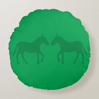 Coussins Ronds Poneys