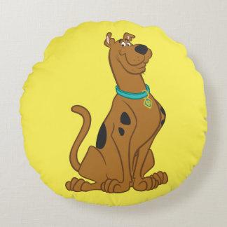 Coussins Ronds Pose classique de Scooby Doo |