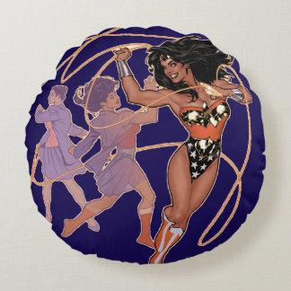 Coussins Ronds Prince Transformation de Diana de femme de