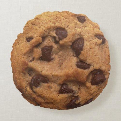 Coussin rond, Cookie éclats de chocolat