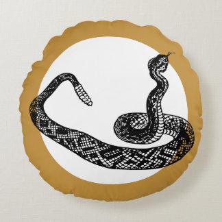 Coussins Ronds serpent de hochet