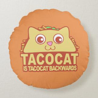 Coussins Ronds Tacocat vers l'arrière II