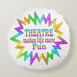 Coussins Ronds Théâtre plus d'amusement