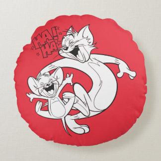Coussins Ronds Tom et Jerry   Tom et rire de Jerry