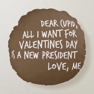 Coussins Ronds Tout que je veux pour le jour de Valentines est un