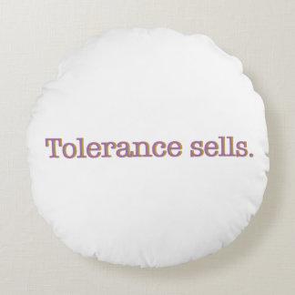 Coussins Ronds Ventes de tolérance