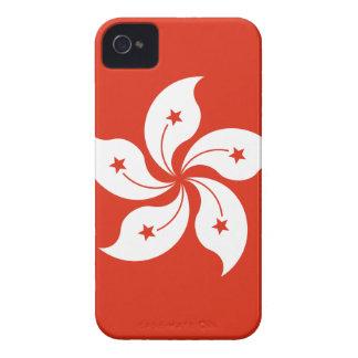 Coût bas ! Drapeau de Hong Kong Coques iPhone 4 Case-Mate