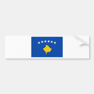 Coût bas ! Drapeau de Kosovo Autocollant Pour Voiture