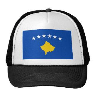 Coût bas ! Drapeau de Kosovo Casquettes De Camionneur