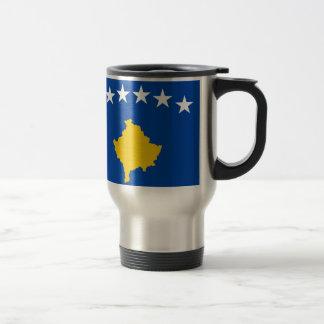 Coût bas ! Drapeau de Kosovo Mug De Voyage