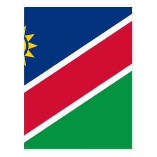 Coût bas ! Drapeau de la Namibie Carte Postale