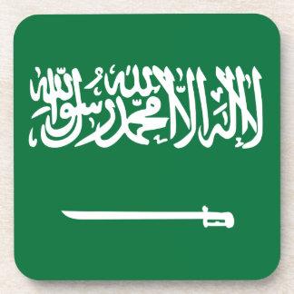 Coût bas ! Drapeau de l'Arabie Saoudite Dessous-de-verre