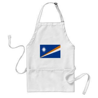 Coût bas ! Drapeau des Marshall Islands Tablier
