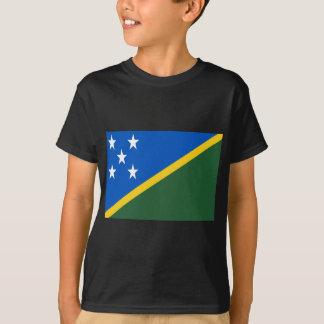 Coût bas ! Drapeau d'îles Salomon T-shirt