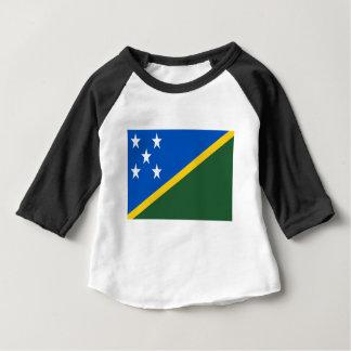 Coût bas ! Drapeau d'îles Salomon T-shirt Pour Bébé