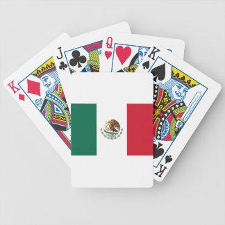 Coût bas ! Drapeau du Mexique Jeu De Poker