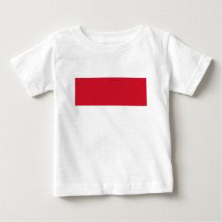Coût bas ! Drapeau du Monaco T-shirt Pour Bébé