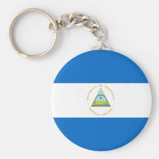 Coût bas ! Drapeau du Nicaragua Porte-clés