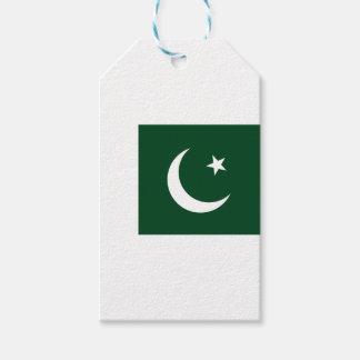 Coût bas ! Drapeau du Pakistan Étiquettes-cadeau