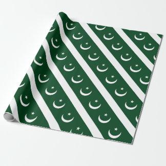 Coût bas ! Drapeau du Pakistan Papier Cadeau