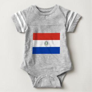 Coût bas ! Drapeau du Paraguay Body