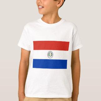 Coût bas ! Drapeau du Paraguay T-shirt
