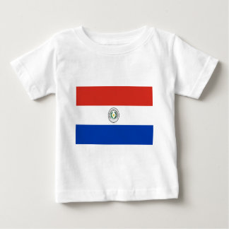 Coût bas ! Drapeau du Paraguay T-shirt Pour Bébé