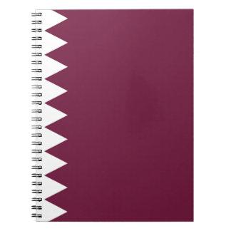Coût bas ! Drapeau du Qatar Carnet