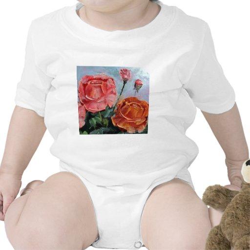 Couteau de palette de roses body pour bébé