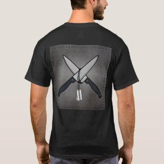 Couteaux de mousse t-shirt