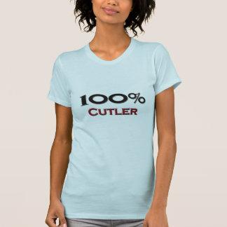 Coutelier de 100 pour cent t-shirts