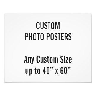"Coutume 14"" x 11"" affiche de photo, jusqu'à 40"" x impression photo"