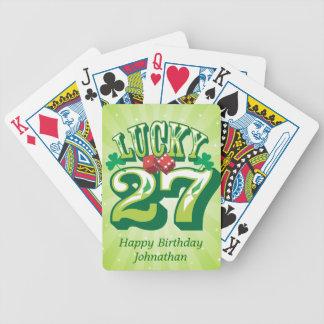 Coutume 27 chanceuse jeu de poker
